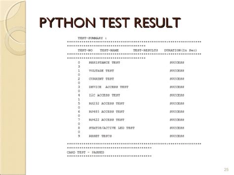 python application automate testing pipelines for automated hardware testing using python