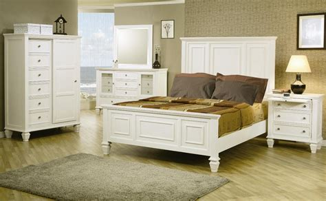 sandy beach bedroom set sandy beach white panel bedroom set 201301 from coaster