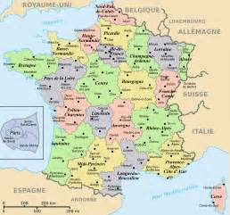 Map Of France Regions by Regions And Departements Map Of France