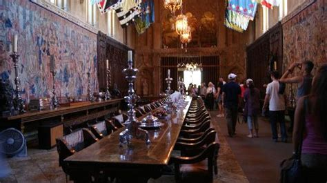 Hearst Castle Dining Room by Overview Of The Dining Room Picture Of Hearst Castle