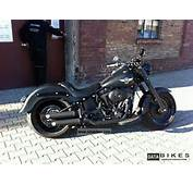 2011 Harley Davidson Black Denim Fat Boy Special \ Motorcycle