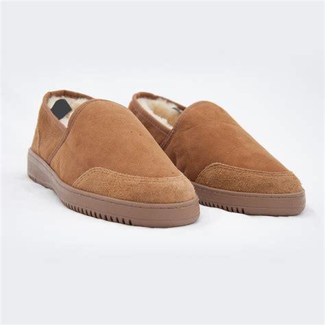 mens slippers nz sheepskin magnetic scuff slippers biomag