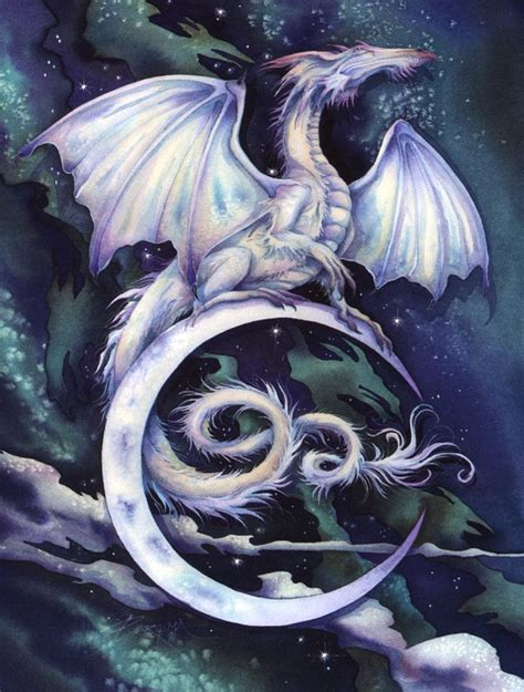 tattoo dragon moon touch the moon reach the stars by jody bergsma