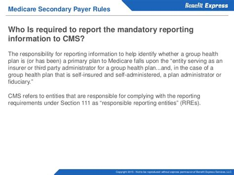 section 111 mandatory reporting how medicare affects employer health coverage