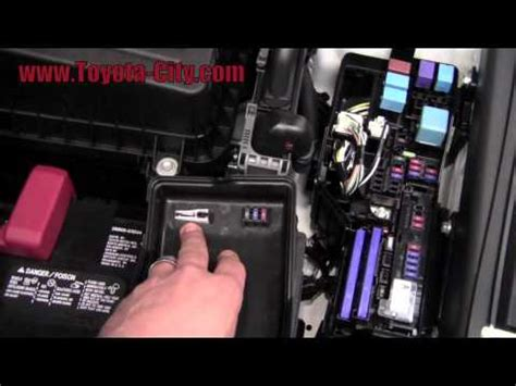 replace under hood fuse box 2007 toyota camry 2011 toyota camry fuses under the hood how to by toyota city minneapolis mn luther owners manual