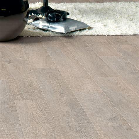 Packed Floor by Quickstep Calando Light Grey Oak Effect Laminate Flooring