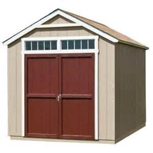 outdoor sheds home depot handy home products majestic 8 ft x 12 ft wood storage