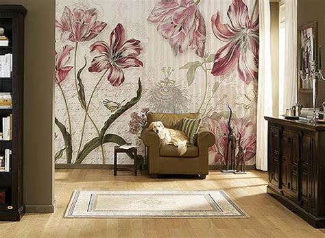 designing a wall mural gorgeous floral wall designs