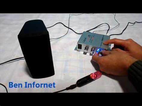 amplificador digital de mesa para pc notebook som ambiente