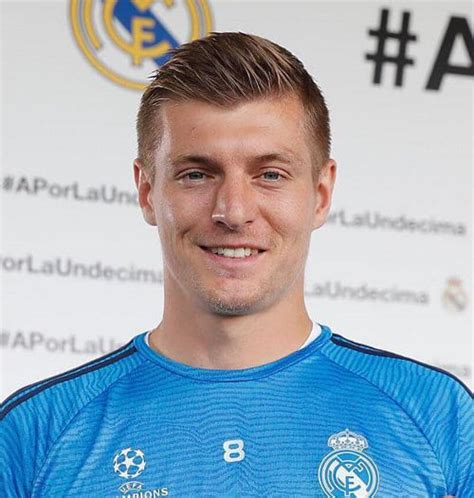 How to Get the Toni Kroos Hair Style ? Cool Men's Hair