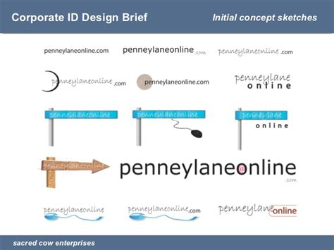 design brief presentation presentation corporate id design brief penneylaneonline