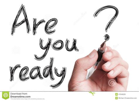 Ready Stok Fnd 1 are you ready stock photo image of procrastination