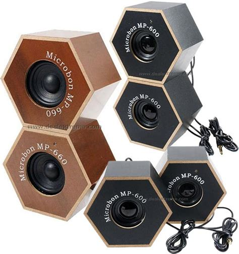 speaker designs wooden speakers put a hex on your ipod technabob