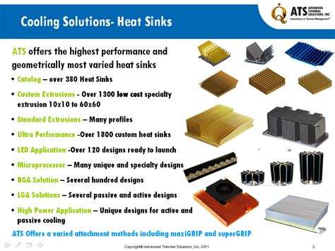 Water Heat Sink by Thousands Of Heat Sinks Make Your Next Design Quick Cheap