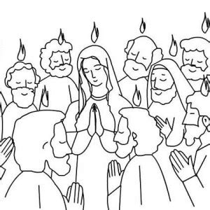 Pentecost Coloring Pages Printable Coloring Pages Holy Spirit Coloring Page