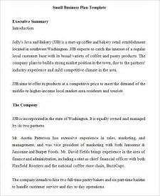 small farm business plan template small business plan template 9 free documents