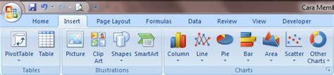 cara membuat grafik statistik di excel cara membuat grafik di excel 2007