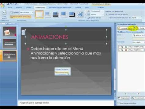 tutorial powerpoint 2007 gratis tutorial animaciones y transiciones en power point 2007