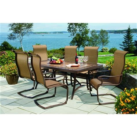 Bjs Outdoor Patio Furniture Patio Dining Sets At Bj S Styles Pixelmari