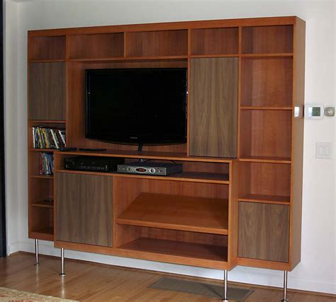 Mid Century Modern Entertainment Center   Architectural