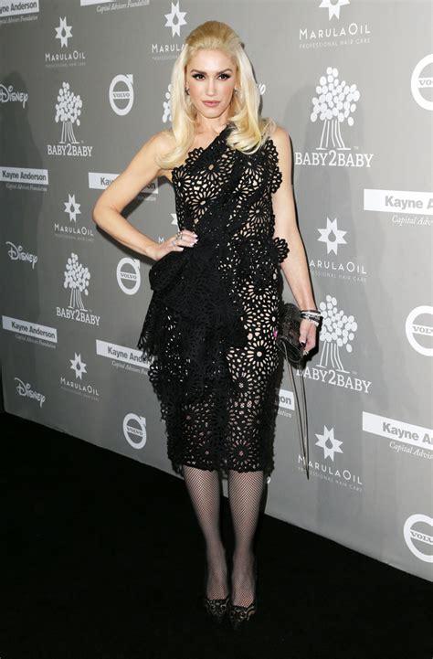 Stefani Dress gwen stefani one shoulder dress gwen stefani looks stylebistro