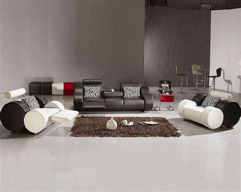 black and white leather sofa set modern black and white leather sofa set 44l3088