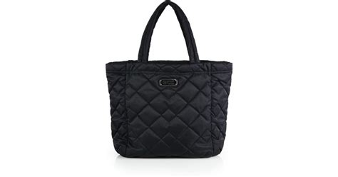 Designer Purse Deal Marc By Marc Tinted Denim Jazz Handbag by Marc By Marc Crosby Quilted Tote In Black Lyst