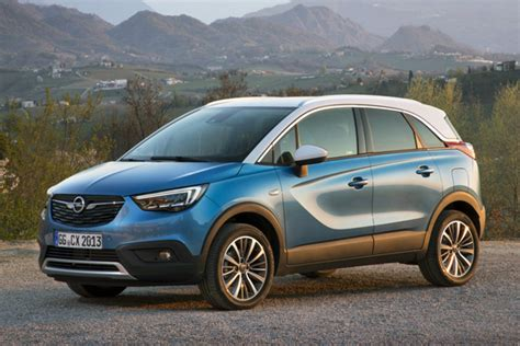 opel europe opel vauxhall crossland x european sales figures