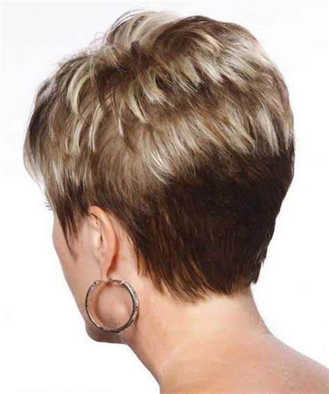 front and back views of chopped hair 15 back of pixie cuts pixie cut 2015