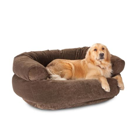 puppy beds orvis tempurpedic fauxfur deep dish dog bed sittinu0027 snug by choozy australian