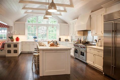 Kitchen Cabinets Vaulted Ceiling Cathedral Ceiling Kitchen Transitional Kitchen Smith River Kitchens