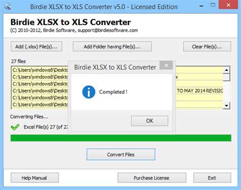 xls format converter convert batch xlsx files to xls format with xlsx to xls