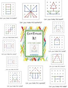 1000+ images about geoboards on pinterest | busy bags