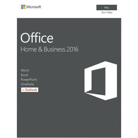 Microsoft Office Home Business 2016 Lifetime microsoft office mac home business 2016 no dvd retail box cherry computers