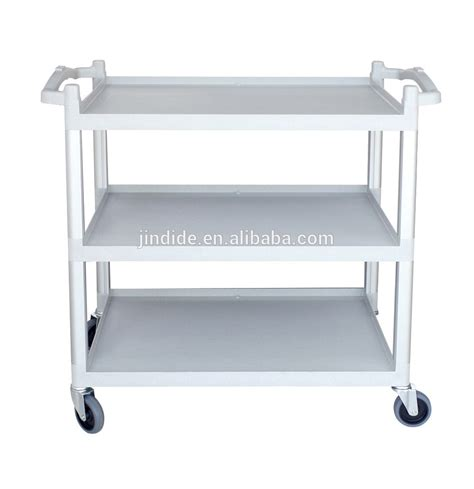 Kitchen Cart Plastic Kitchen Plastic Serving Cart Trolley Without Panels Buy