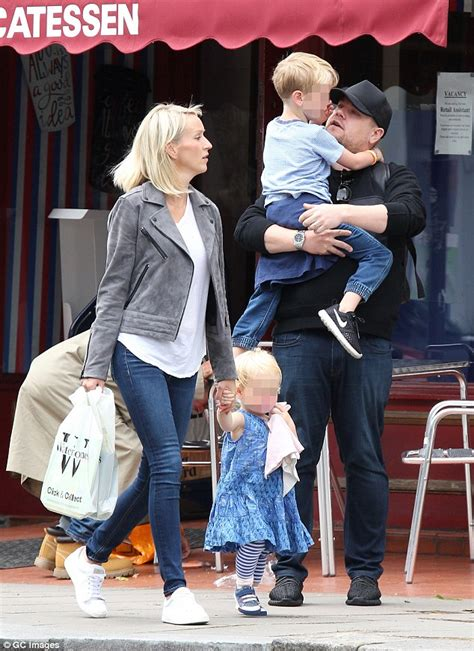 Family day out james corden and wife carey took max and carey out for