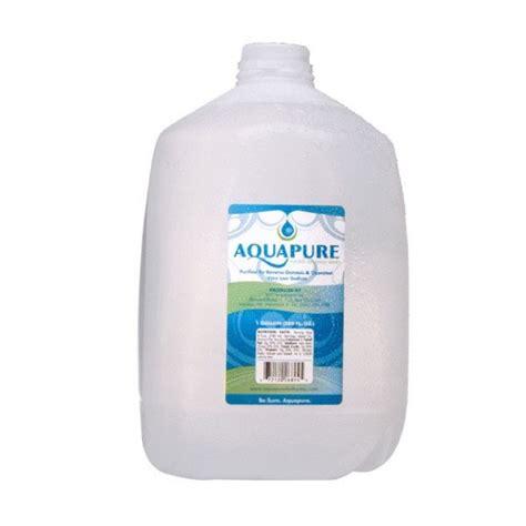 1 Gallon Bottle - aquapure purified bottled water 1 gallon nassau grocery
