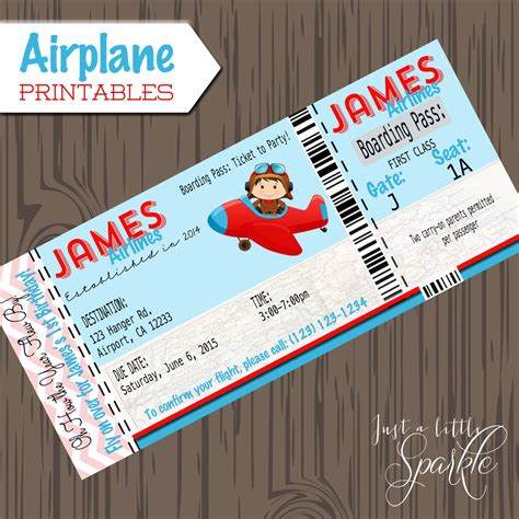 Aeroplane Template For Birthday Card by Pilot Invitations Cards Diy Lil Pilots Airplane Birthday