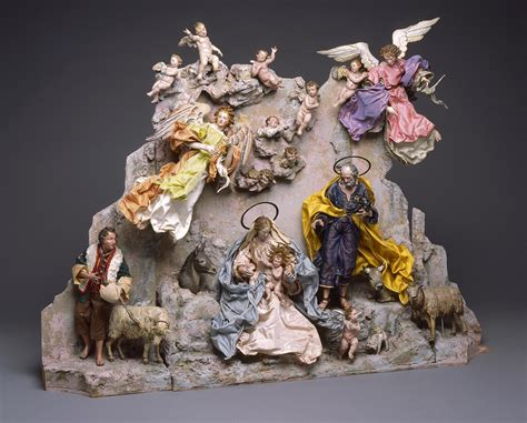italian nativity creches from the collection neapolitan cr 232 che nativity milwaukee museum