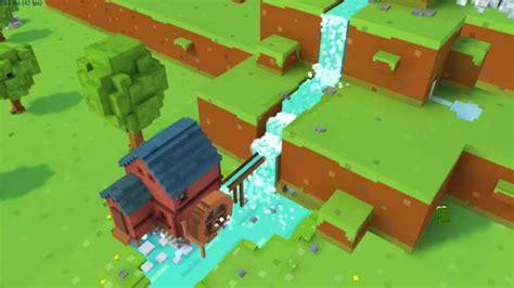 unity tutorial voxel voxel waterfall no problem blocky farm gif create