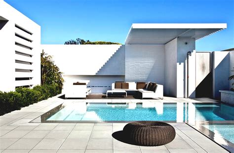 Outdoor Ground Modern Pools Design Idea Swimming Pool For