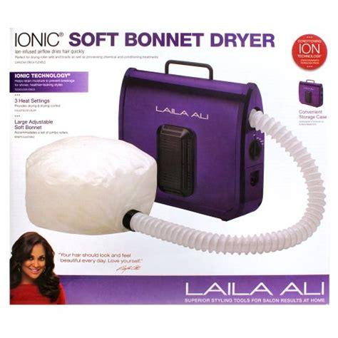 braid in bonnet hair dryer laila ali ladr5604 ionic soft bonnet dryer purple with