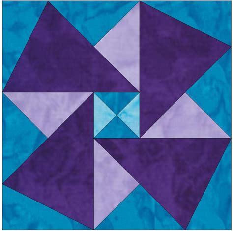 Origami Quilts - origami template 10 inch block by humburgcreation craftsy