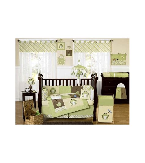 Sweet Jojo Crib Set sweet jojo designs leap frog 9 crib bedding set
