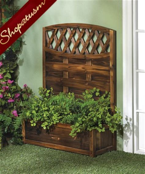 Decorative Wood Trellis Beautiful Decorative Garden Planter Trellis Fir Wood