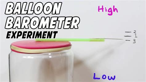 how can i build my at home how to make a barometer