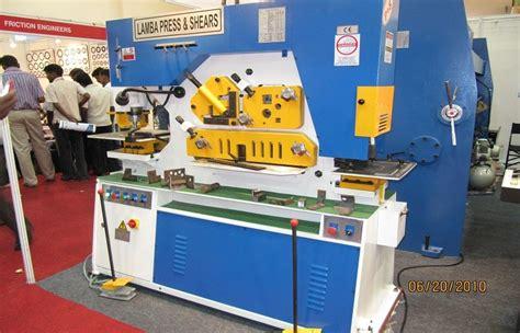 60 Ton Universal Ironworker Machine Round Square Bar