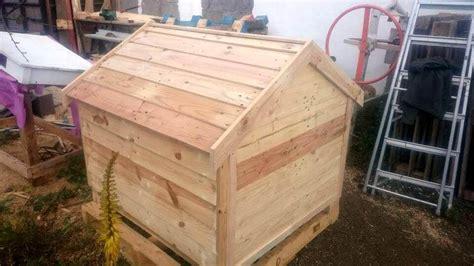 wood pallet dog house pallets wood dog house pallet furniture diy