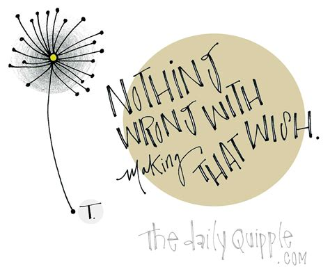 how to make wishing cards dandelion wish illustration the daily quipple