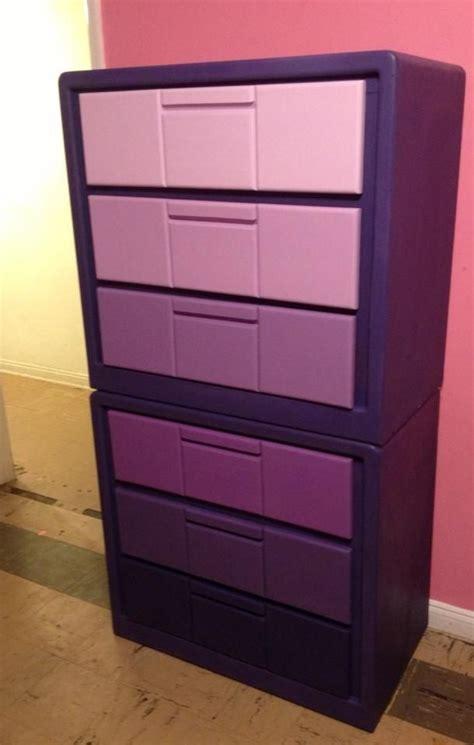 Purple Dresser by Purple Ombr 233 Dresser Chalk Paint Dresser Ideas